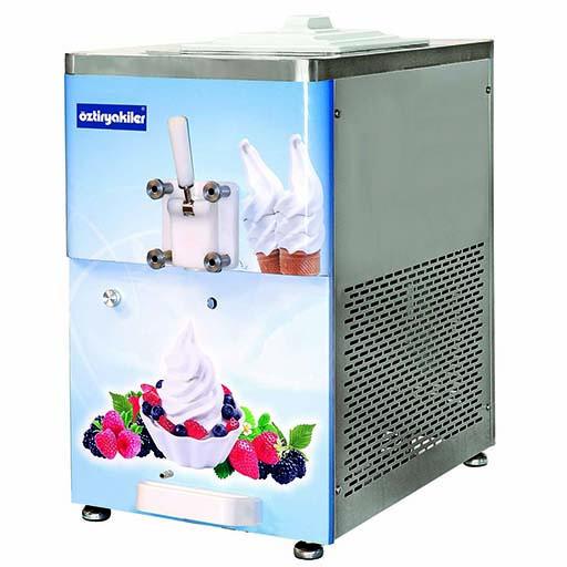 Dondurma Ve Frozen Yoğurt  Makinesi Set Üstü