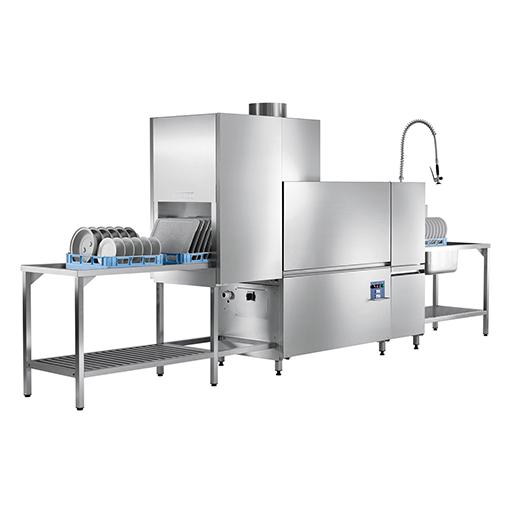 Konveyorlü Otomatik Bulaşık Yıkama Makinesi / Kurutmalı